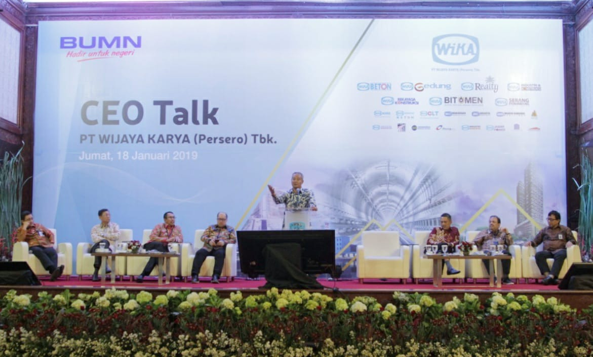 WIKA Holds CEO Talk 2019