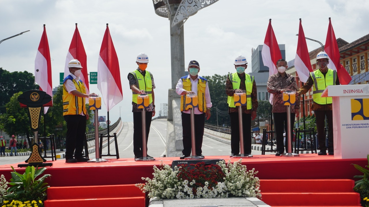 WIKA Completes Purwosari Flyover Inaugurated by the Ministry of PUPR