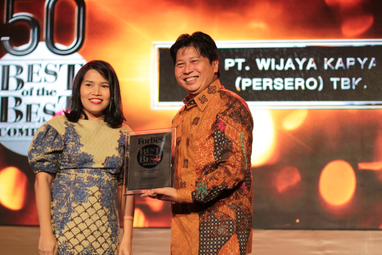 WIKA Wins Best of the Best Forbes Indonesia Magazine
