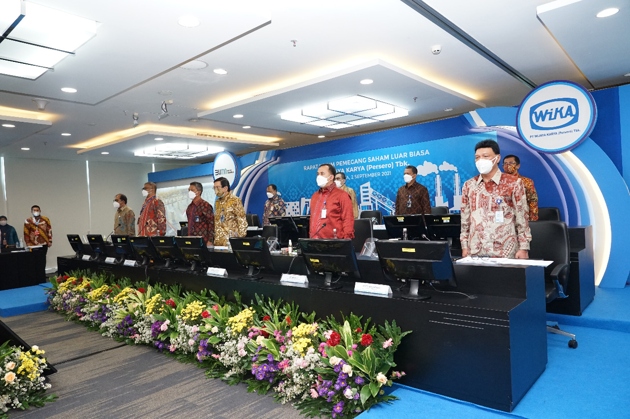 WIKA Holds Extraordinary General Meeting of Shareholders EGMS 2021