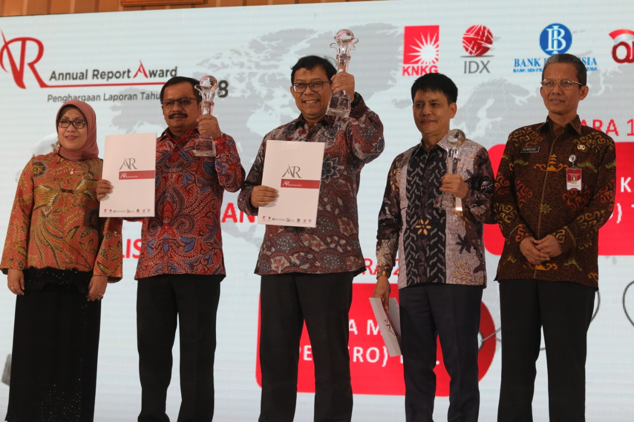 WIKA Won First Place in 2018 Annual Report Award for Listed Non-Financial BUMN