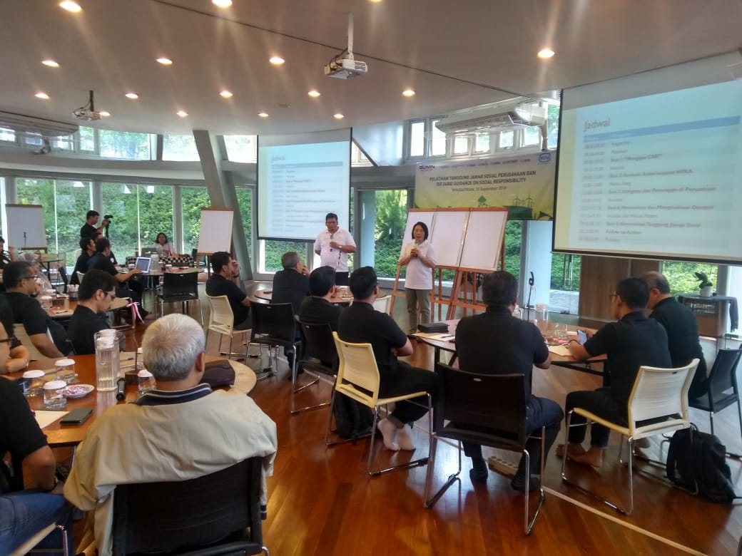WIKA Held CSR Workshop and ISO 26000 as Guidance of CSR