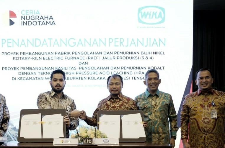 WIKA Wins a Nickel Processing & Refining ECPF Project Contract worth US  348.80 million