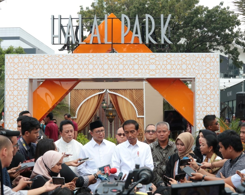 President Jokowi Inaugurates Halal Park, World Halal Lifestyle Center