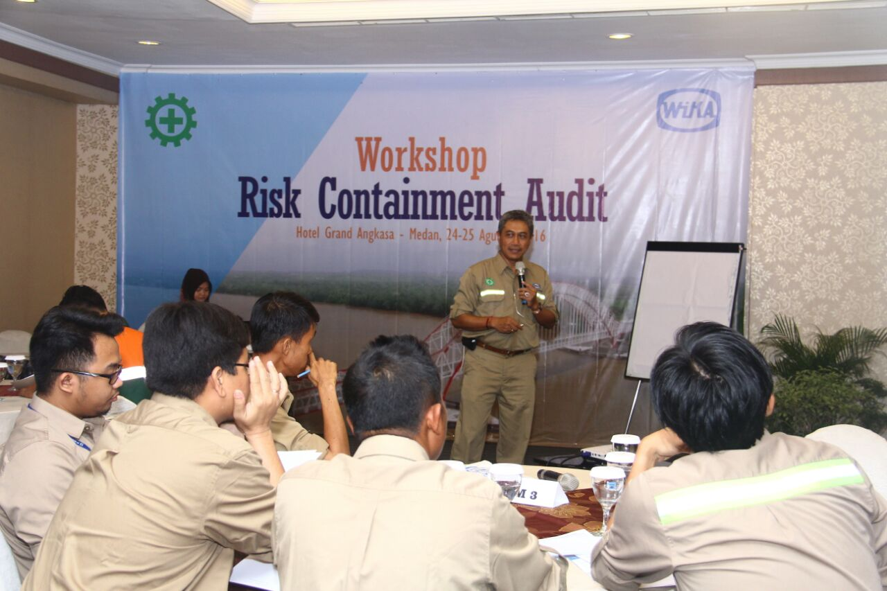 WIKA Holds Risk Containment Audit Workshop