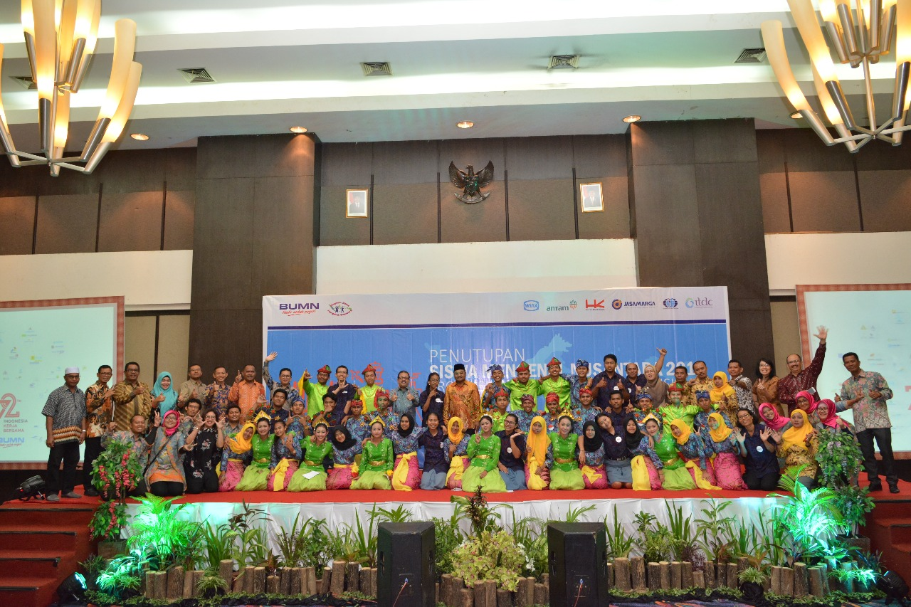WIKA Synergize together ANTAM and Hutama Karya for Siswa Mengenal Nusantara Program