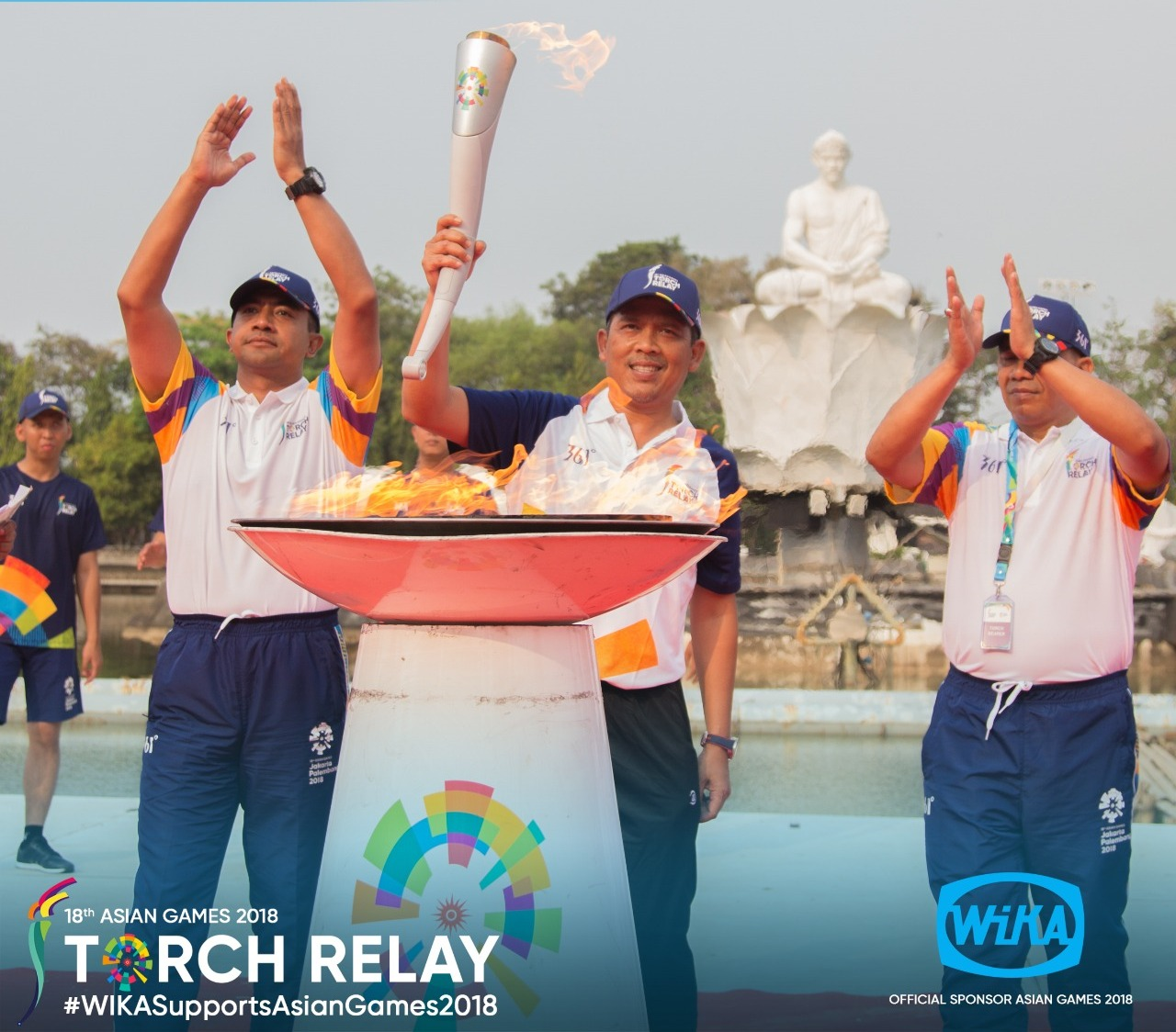 Torch Relay Asian Games 2018 - Purwakarta