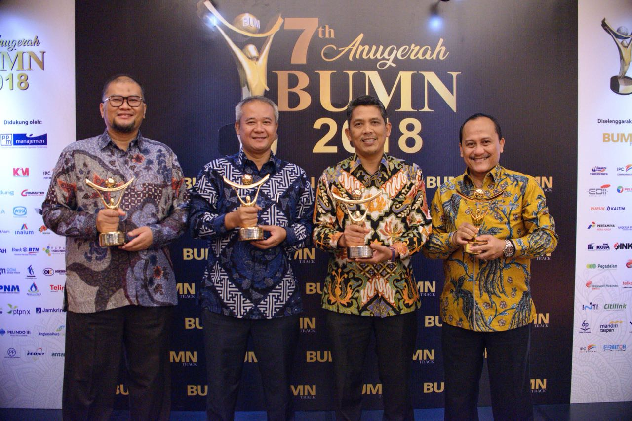WIKA Group Achieve 4 Awards on BUMN Award 2018