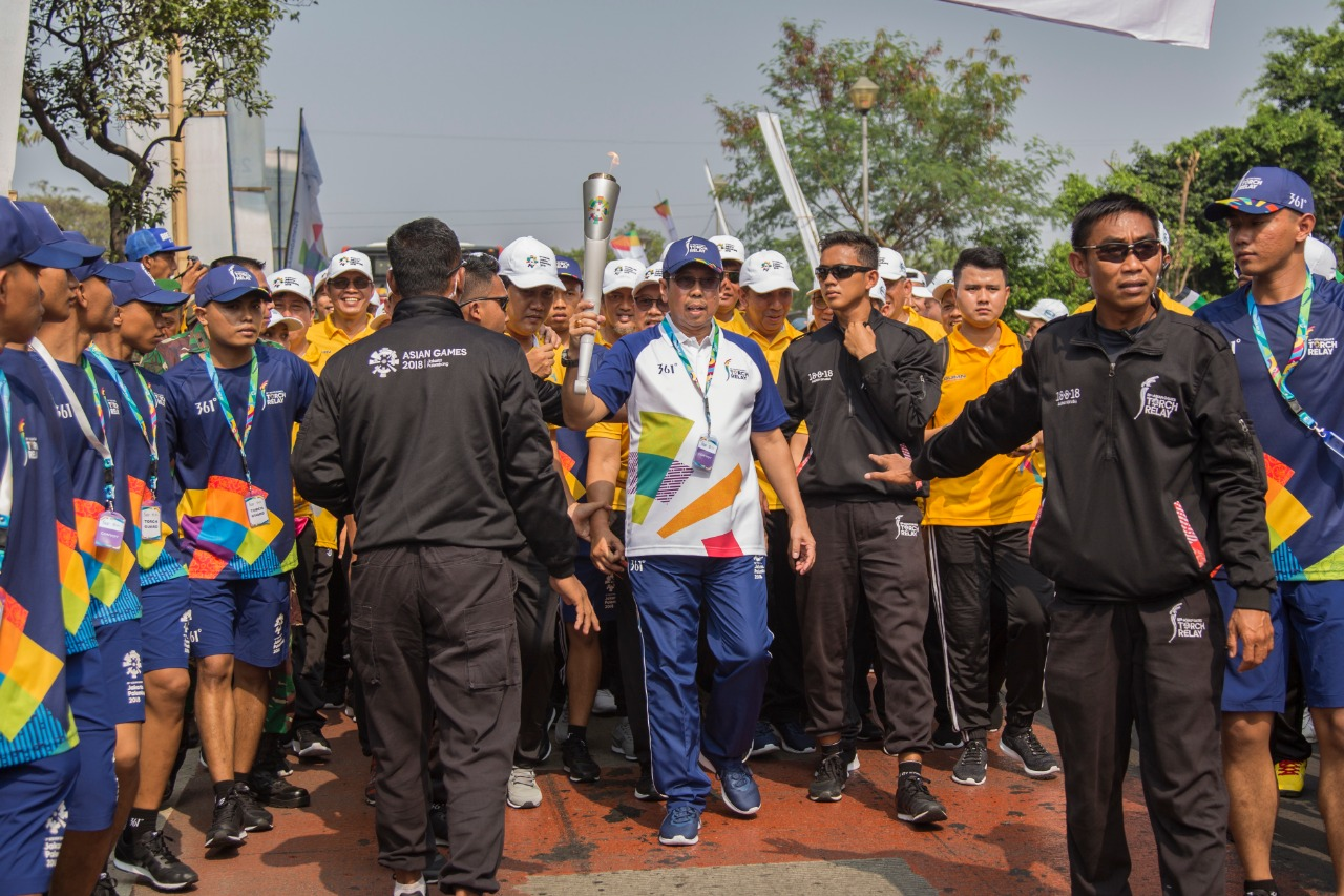 Torch Relay Asian Games 2018 - Jakarta
