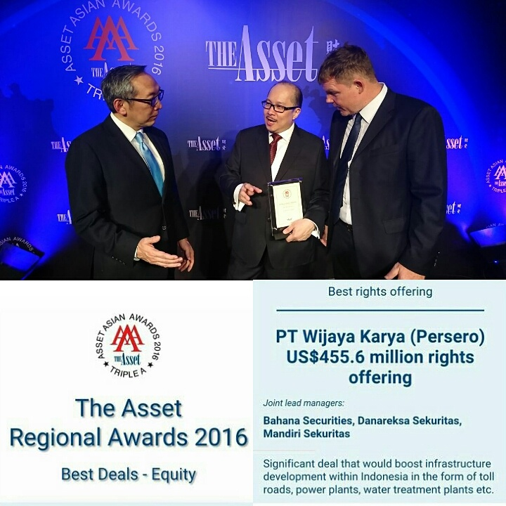 WIKA Achieves Asia Awards from The Asset Magazine