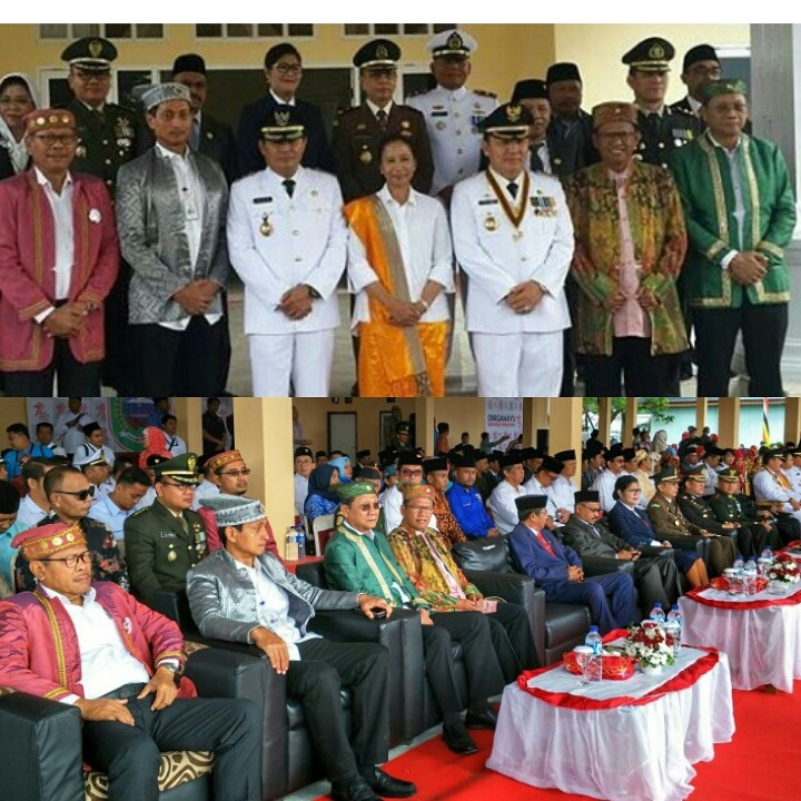 Minister of SOE attends Independence Day Ceremony in North Maluku together with Synergy of WIKA, ANT
