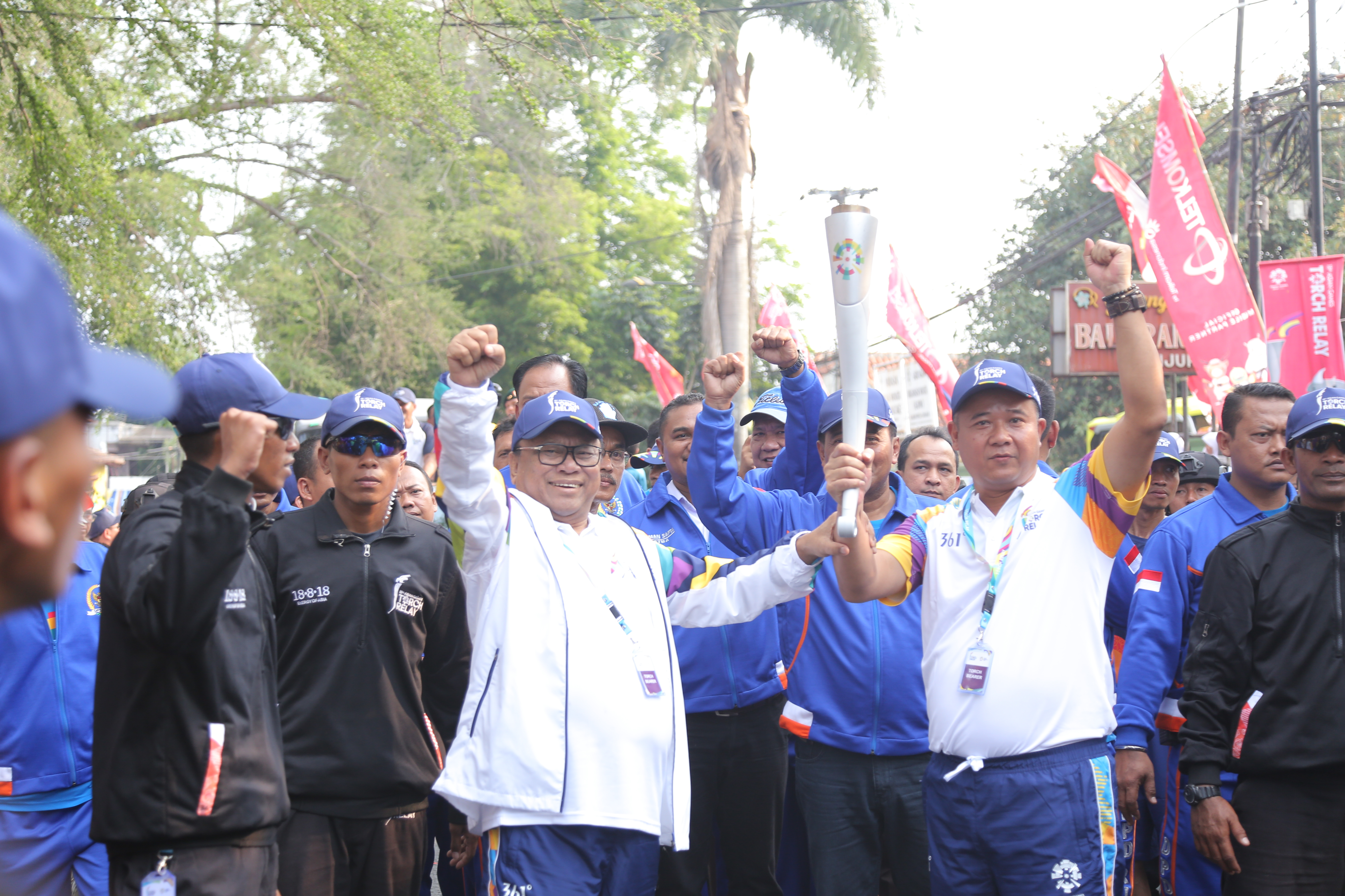 Torch Relay Asian Games 2018 - Cianjur