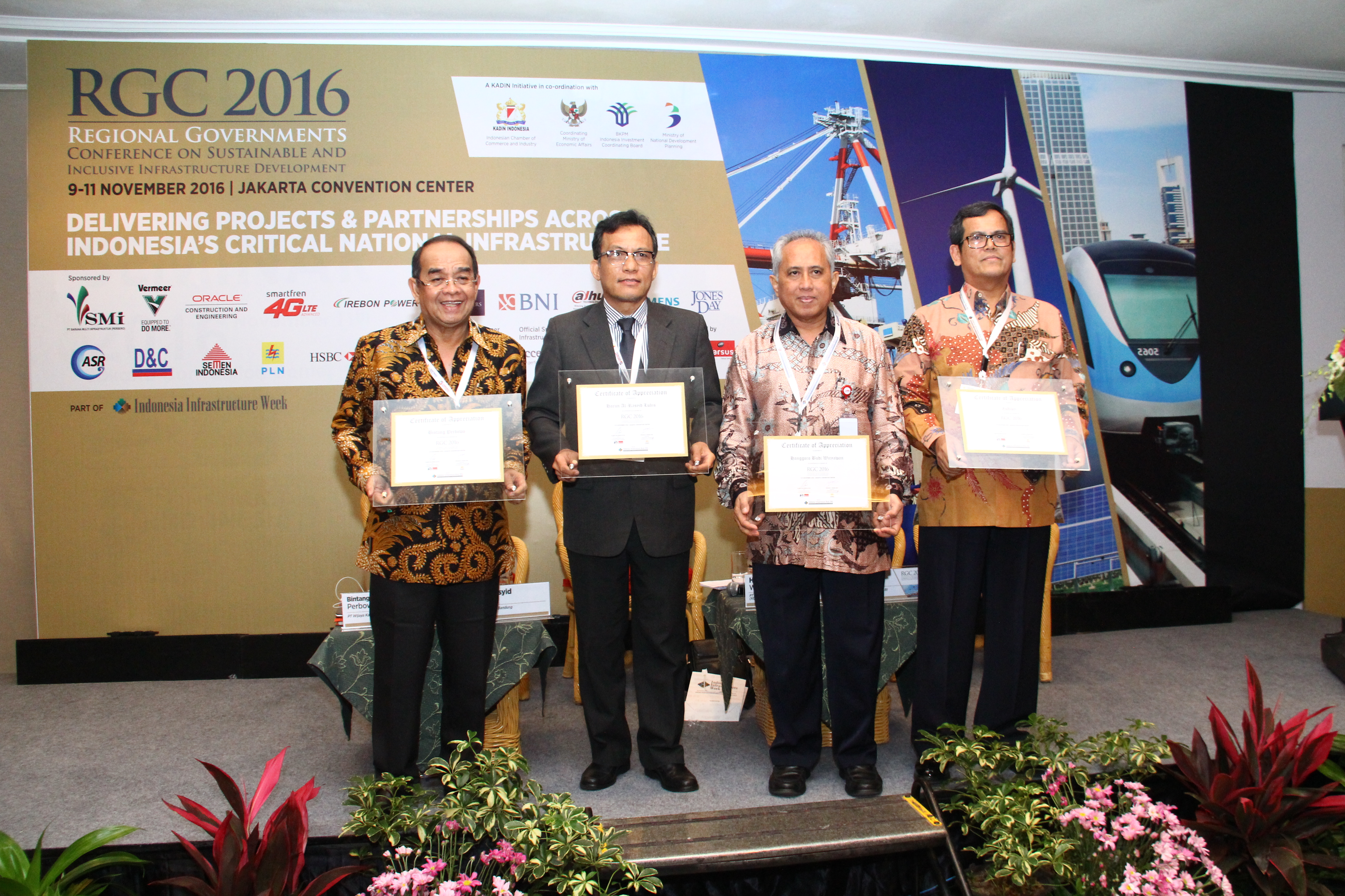President Director of WIKA Appears as Speaker on Indonesia Infrastructure Week 2016