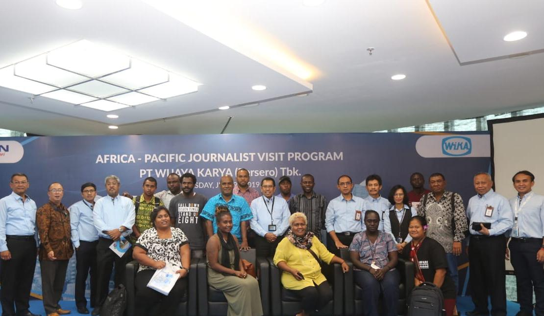 Journalist Visit Program Ministry of Foreign Affairs and Communication and Information in WIKA