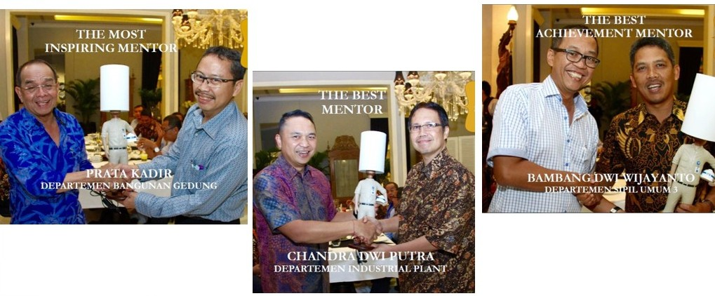 WIKA Gives Appreciation for Mentor of Project Manager Talent Program