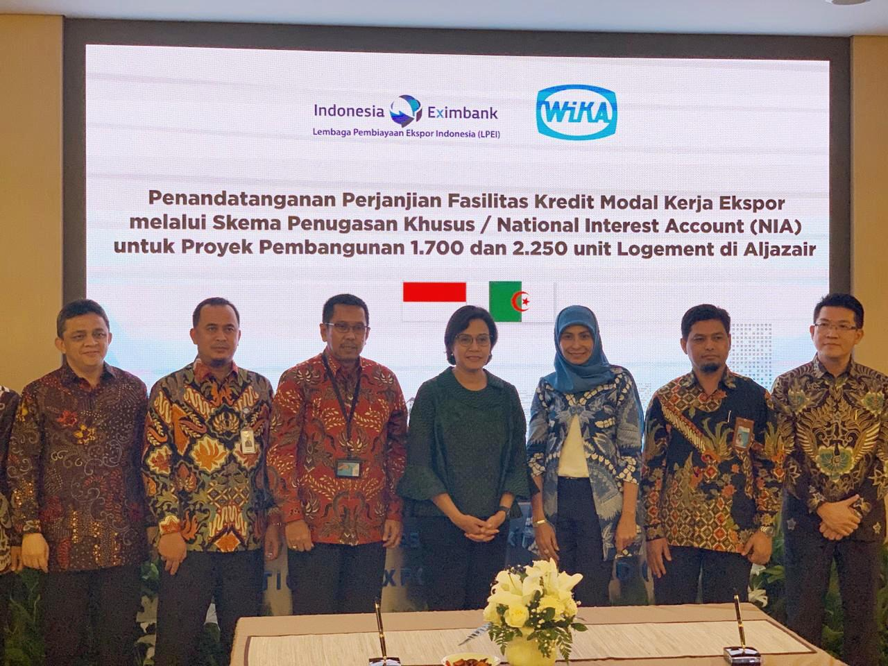 Eximbank - WIKA Agrees on Export Financing Cooperation for Foreign Project Development