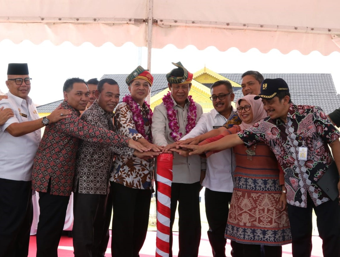 Sei Gong Dam Inaugurated: Momentum of Riau Islands Development