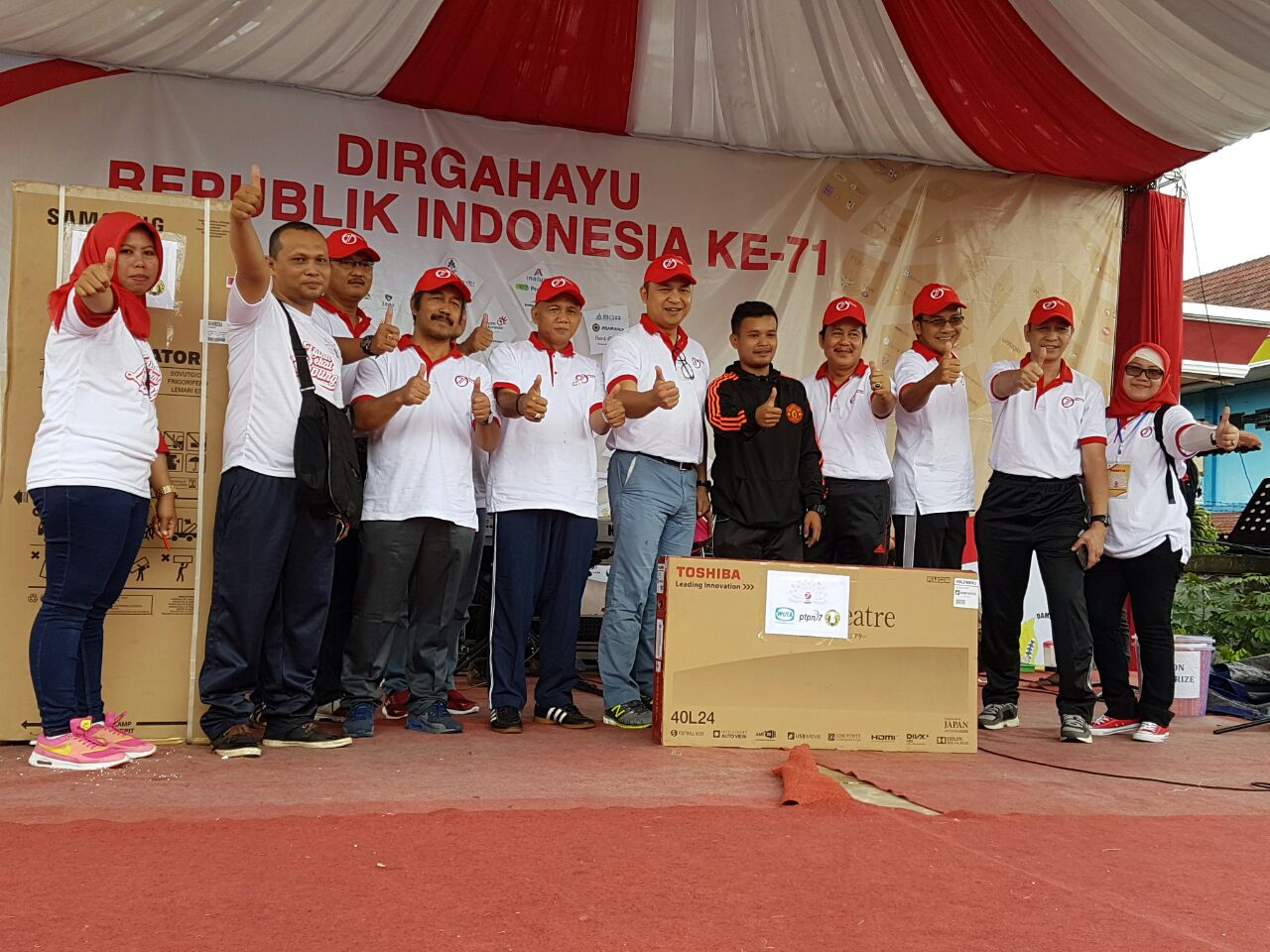 WIKA and 2 SOEs Hold Fun Walk in Lampung