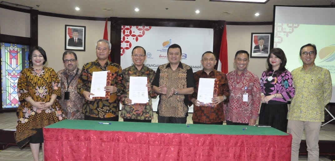 Signed the MoU on the Construction of Commercial Areas in Jakarta, WIKA-PP-Sarinah to Build Investme