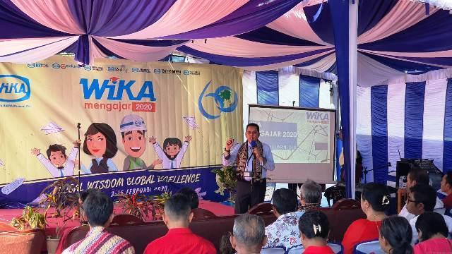 WIKA Mengajar: For a Shining Future of Our Nation