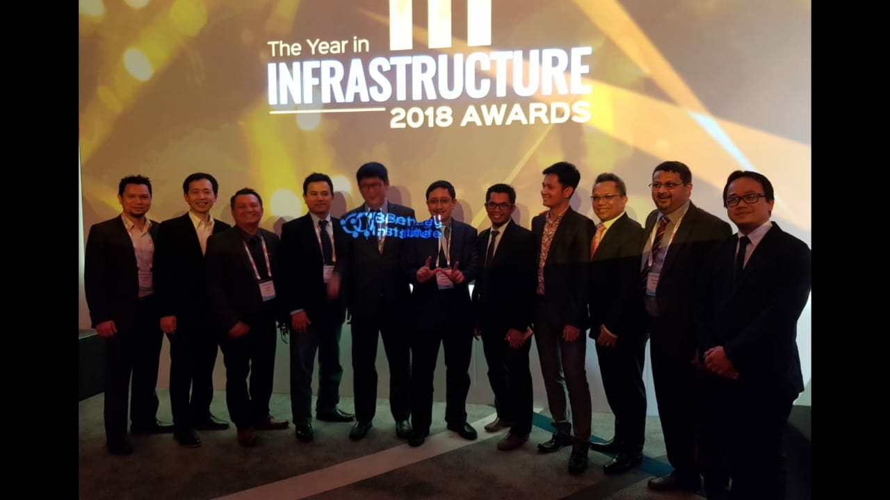 WIKA Achieve the 2018 Award at Year in Infrastructure Award in London