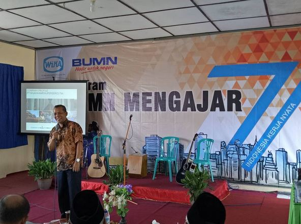 BUMN Mengajar with WIKA in several other cities in Indonesia