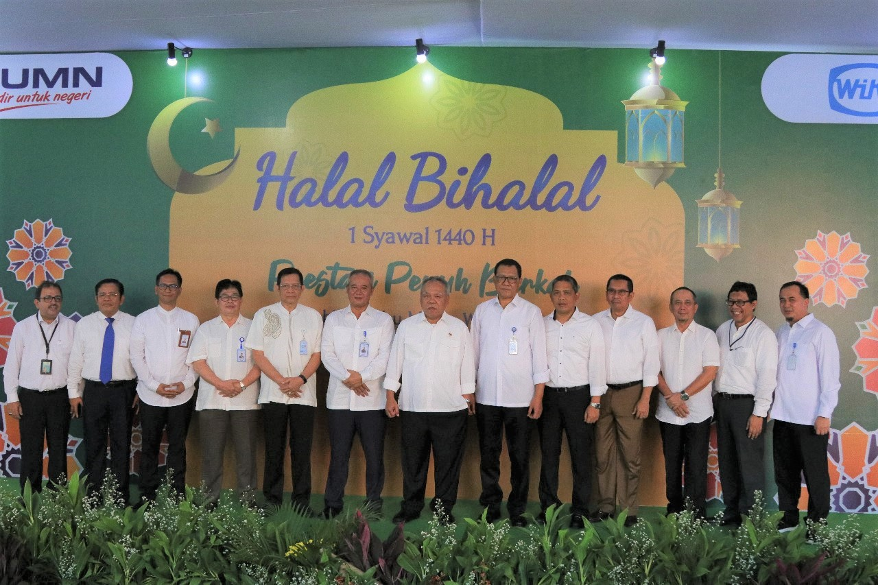 Halal Bi Halal Becomes the Unifying Moment of the WIKA Big Family