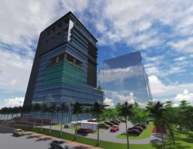 BNI BSD Building Construction Project - Serpong, South Tangerang